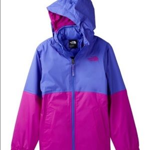 North face rain jacket/shell
